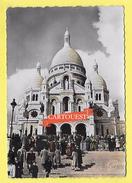 CPSM 75 PARIS Sacré Coeur De Montmartre 1953 ( Peu Commune ) - Sacré Coeur