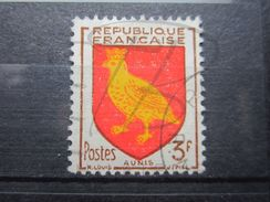 VEND BEAU TIMBRE DE FRANCE N° 1004 , CADRE DE L'ECUSSON BRISE COIN SUPERIEUR GAUCHE !!! - Errors & Oddities