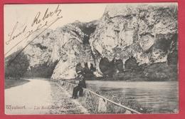 Waulsort - Les Rochers De Freyr , Promeneur  -190? ( Voir Verso ) - Hastière