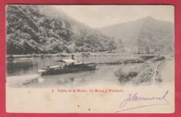 Waulsort - Bateau Vapeur Sur La Meuse  -190? ( Voir Verso ) - Hastière