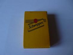 COLLECTOR Mini Jeu Des 7 Familles SCHWEPPES - Playing Cards - Format 6 X 4 Cm - Cartes à Jouer