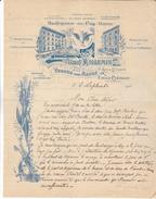 55 Verdun - Hotel Du Coq Hardi.8 Rue Du St Esprit.Emile Clement Sseur Albert Willemin. TB Illustration De 1910. Tb état. - 1900 – 1949