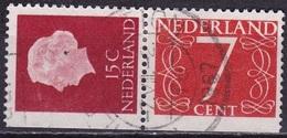 1964 Combinatie 15 + 7 Ct Links Ongetand Uit PB 1 NVPH C 7 - Carnets Et Roulettes