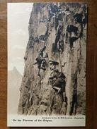 (alpinisme, Chamonix) On The Traverse Of The Grépon. Photo De George Dixon Abraham, Vers 1910. - Chamonix-Mont-Blanc