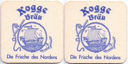 #D176-095 Viltje Kogge Bräu - Portavasos