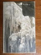 (carte-photo, Alpinisme) Gorges De Partnach (Garmisch) En Hiver. Photo Signée, 1910. - Garmisch-Partenkirchen