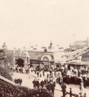 Essex Southend-on-Sea Entrée Du Pier Station Balnéaire Ancienne Photo Amateur 1900 - Places