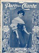 Anna THIBAUD  Numéro Spécial De Paris Qui Chante 1906 - 1900 - 1949