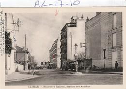 Algerie : El-biar  ( Boulevard Gallieni, Station Des Autobus ) - Other Cities