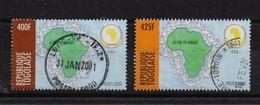 Togo 2000, Minrs 3165-3166, Vfu. Cv 3,90 Euro - Togo (1960-...)