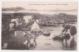 26340 De Roscoff A Santec -un Lavoir Original En Bretagne -3678 Villard -brouette Lavandiere Pont - Roscoff