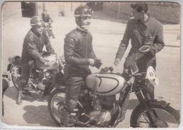 MOTO MOTORCYCLE PARILLA - GARA MOTOCICLISTICA ANNI 60 - FOTOGRAFIA ORIGINALE - Photographs