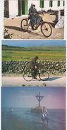 26341 Lot 18 Cartes Postales Modernes Cyclisme Velo France Cyclotourisme - Cyclisme