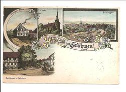 Seulingen. Gruss Aus Litho. U.a. Seulinger Warte - Germany