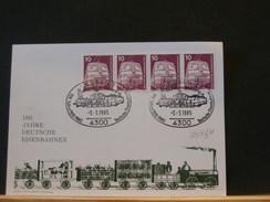70/134   OBL.   ALLEMAGNE - Trains