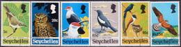 SEYCHELLES 1972 SG #308-13 Compl.set Used Rare Birds - Seychelles (...-1976)