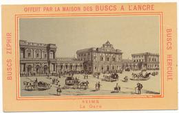 Chromo Buscs à L'Ancre - REIMS, La Gare - Autres