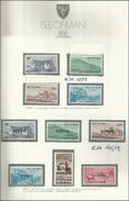 1975 Isola Di Man DECIMALE FRANCOBOLLI USO FISCALE 2 Serie (10-13, 14-19) MNH** - Isola Di Man