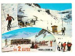 Les Deux Alpes (38) Station De Sports D'hiver - France
