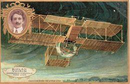 Cpa Aviation  Editee Par LEFEVRE UTILE   BI.PLAN VOISIN  EXPERIENCE ANEUVILLE  PRES LYON - Aviatori