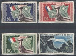 Togo - YT PA 25-28 ** - 1957 - Nuovi