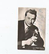 MARCEL FORT CARTE AVEC AUTOGRAPHE - Autographes