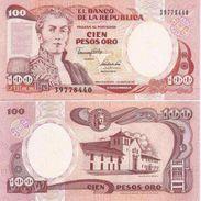 Colombia P-426e 100 Pesos 1991 UNC - Colombie