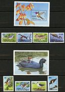 Turks & Caicos, Yvert 899/902&903/906+BF94&95, Scott 859/868 MNH - Turks & Caicos