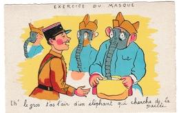 Masque à Gaz 1940 - T'as L'air D'un éléphant - Humoristiques