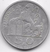 Belgique - 50 Francs 1951 - Argent - 1945-1951: Régence