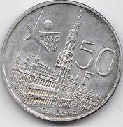 Belgique - 50 Francs 1958 - Argent - 1951-1993: Baudouin I