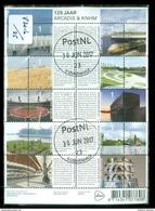 NEDERLAND NVPH  V.3016 - 25 *   BLOK BLOC * BLOCK * GEBRUIKT *  POSTFRIS GESTEMPELD - Periode 1980-... (Beatrix)