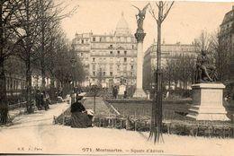75. Paris. Montmartre. Square D'anvers - Arrondissement: 18