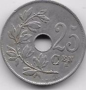 Belgique - 25 Centimes 1921 - 05. 25 Centimes