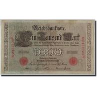 Allemagne, 1000 Mark, 1910, KM:44b, 1910-04-21, B+ - [ 2] 1871-1918 : German Empire