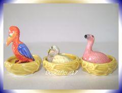 Oiseau Fait Son Nid  ... Lot De 6 Fèves ... Ref AFF : 6-2001..  ( Pan 0038) - Animals