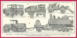 Tracteurs Larousse 1948 - Sin Clasificación