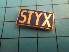 Pin413d  Pin's Pins / Rare Et De Belle Qualité AUTRES / STYX - Pin's