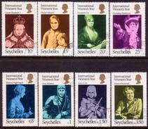 SEYCHELLES 1975 SG #342-49 Compl.set Used Int. Women's Year - Seychelles (...-1976)