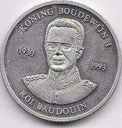 Belgique - Médaille Pour La Mort Du Roi Baudouin - Belgique