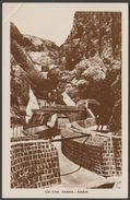 Up The Tanks, Aden, C.1930s - Pallonjee Dinshaw & Co RP Postcard - Yemen