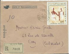 ALGERIE - Lettre Recommandée Au Départ D' ALGER - Algerije (1962-...)