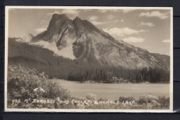Canada - Mt Burgegs And Chalet - Emerald Lake - Alberta