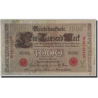 Allemagne, 1000 Mark, 1910, KM:44b, 1910-04-21, TB - [ 2] 1871-1918 : German Empire