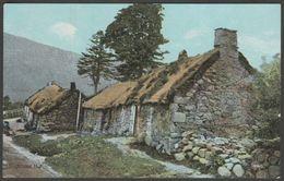 A Highland Hut, Scotland, C.1905 - Shurey's Postcard - Scotland