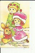 Carte  Depliante De  Meilleurs Voeux ( Original De Clotilde NADEL ) - Nouvel An