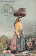 Carte Postale : Lisboa  (Portugal) Uma Peixeira      Belle Scène   Ed Costa  N° 1137 - Portugal