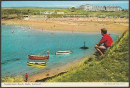 Summerleaze Beach, Bude, Cornwall, 1970 - John Hinde Postcard - England