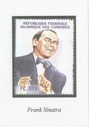 FRANK SINATRA - Francobolli (rappresentazioni)