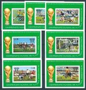 Sao Tome (1979) Mi. Bl. 25/31  /  Soccer - Futbol - Calcio - Football - FIFA World Cup Argentina - Copa Mundial